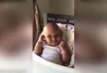 Beba zvuči kao vjeverica