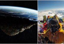 Jedna fotografija s Mount Everesta potpuno obara teoriju o ravnoj Zemlji
