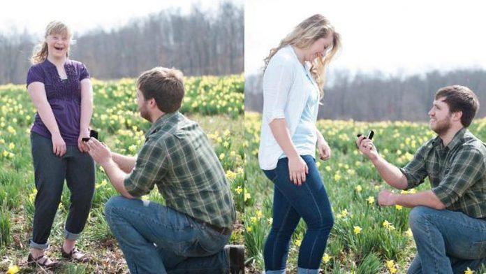 Kad je došlo vrijeme za vjenčanje, mladoženja je smislio nešto predivno