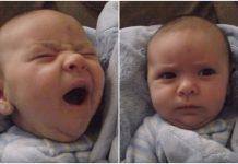 Tata je pitao bebu je li se naspavala, a njezin ''odgovor'' ga je oduševio