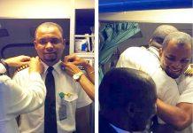 Čistač zrakoplova nakon 24 godine postao kapetan