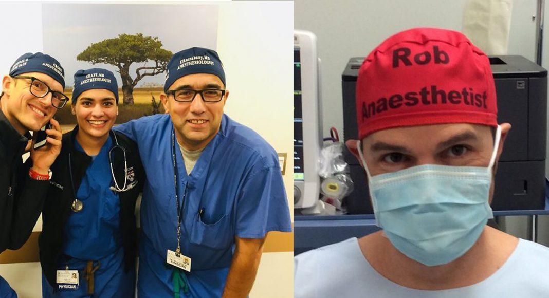 Kirurg je napisao svoje ime na kapu i time spasio mnoge živote