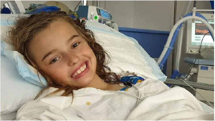 Djevojčica (12) oboljela od malignog tumora na mozgu zaprepastila roditelje