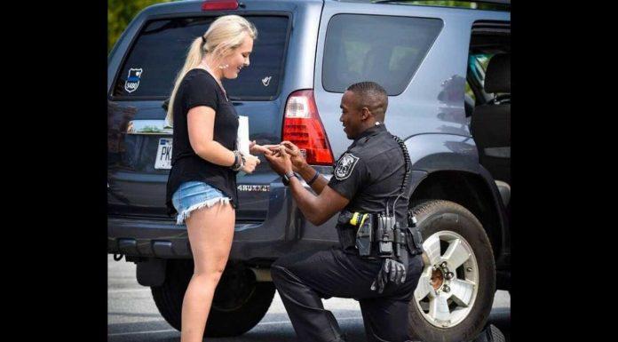 Nikome nije ugodno kada da ga policajac zaustavi, bilo da kršite zakon ili ne, no ovaj policajac je to učinio svojoj djevojci.