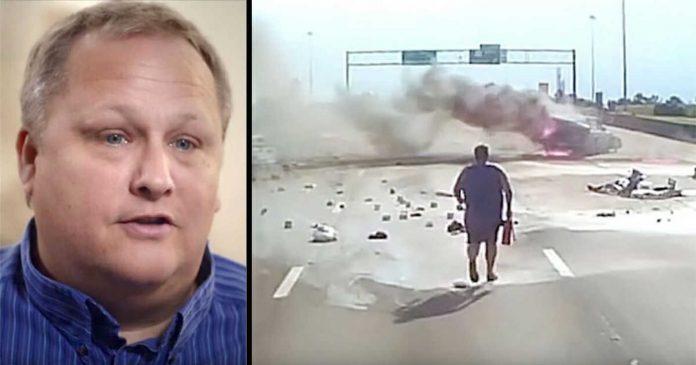 Vozač kamiona je svjedočio užasnoj nesreći, a onda je snimio čudo