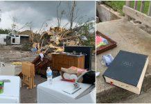 Ogroman tornado je ''otpuhao'' kuću, no Biblija je ostala netaknuta