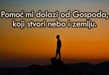 Bog je najvjerniji pomoćnik u nevolji