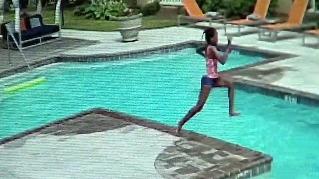 Hrabra djevojčica spasila trogodišnju sestru od utapanja u bazenu