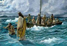 Petrovo hodanje po vodi