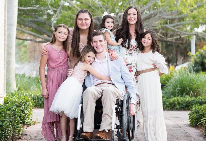 Sportaš koji je ostao paraliziran udomio je 17 i usvojio 5 djece