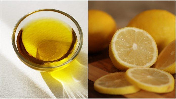 maslinovo ulje i limun kombinacija