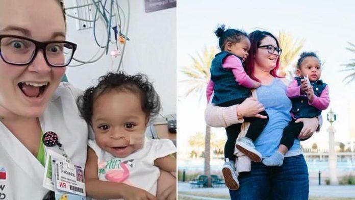 medicinska sestra posvojila zlostavljanu bebu