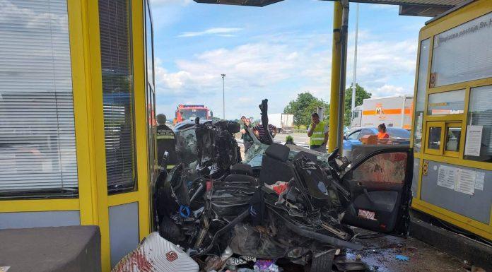 Roditelji i dijete teško ozljeđeni prilikom plaćanja cestarine