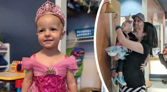 Hrabra 2-godišnjakinja je pobijedila rijetku vrstu raka jajnika