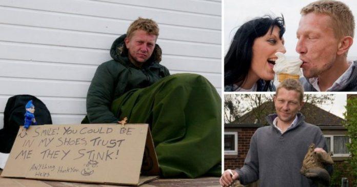 Žena pronašla svoju srodnu dušu prilikom susreta s beskućnikom