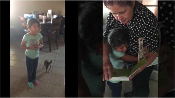 Djevojčica zaplakala kada je dobila Bibliju