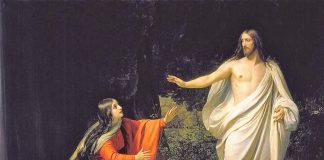 Zašto je Isus rekao Mariji Magdaleni da ga se ne dotiče?