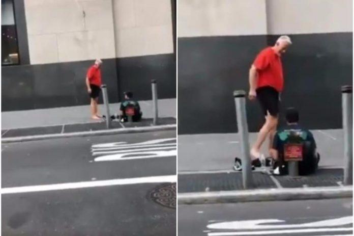 Dok je trčao, ugledao je beskućnika: Nije ni slutio što će mu učiniti