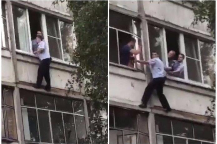 Policajac spasio život bebi koju je pijani otac htio baciti kroz prozor