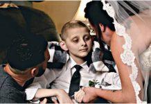 Dječak (12) je otpratio svoju mamu do oltara netom prije nego je preminuo