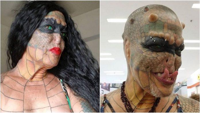 Transrodna žena potrošila tisuće eura kako bi se preobrazila u zmaja