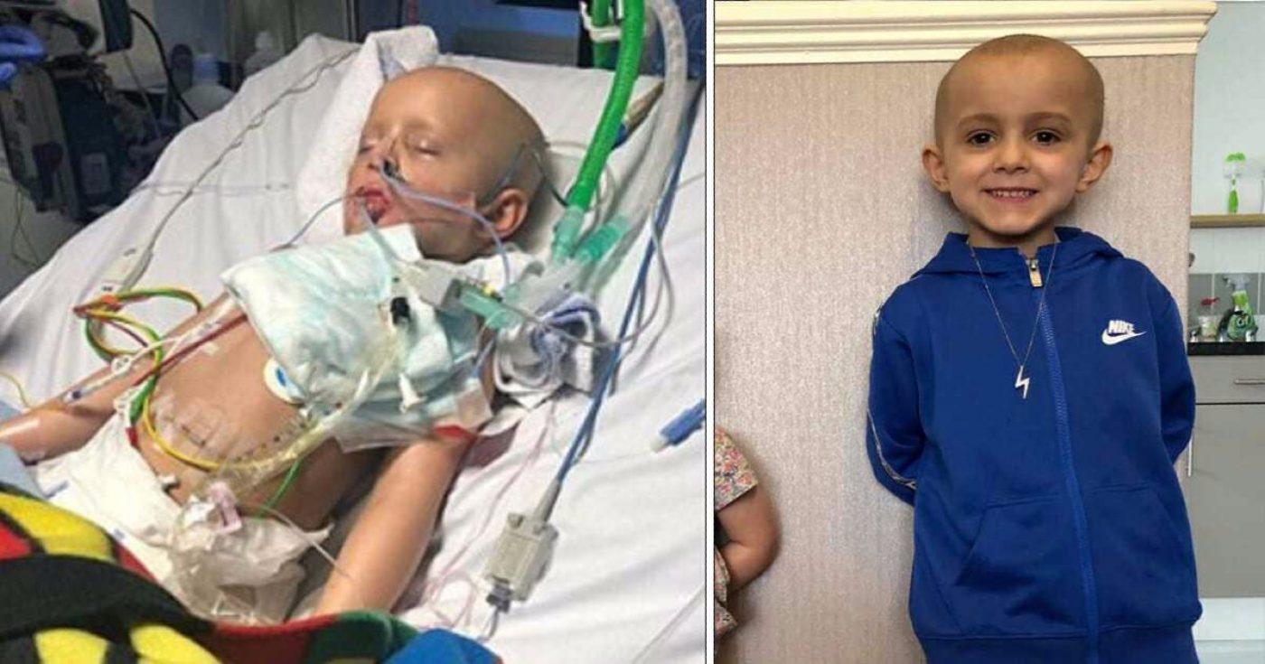Dječak (5) pobijedio rak koji mu se proširio po cijelom tijelu