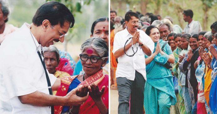 Liječnik sa svojim timom u Indiji besplatno liječi tisuće ljudi