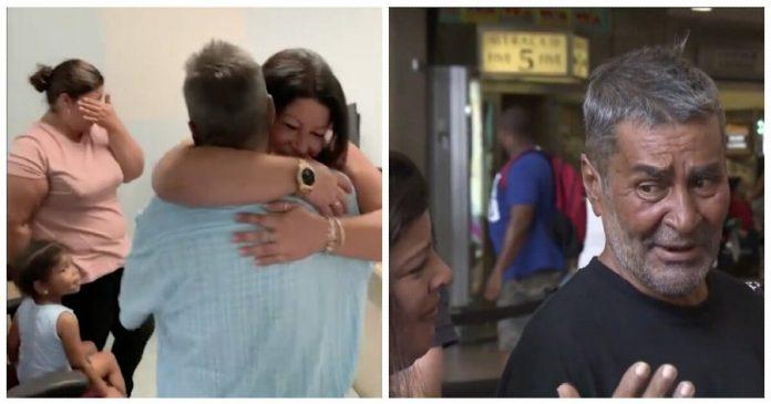 Beskućnik se nakon 24 godine ponovno ujedinio sa svojim kćerima