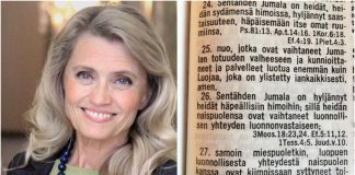 Kršćanska političarka pod istragom jer je podijelila biblijski citat na Facebooku