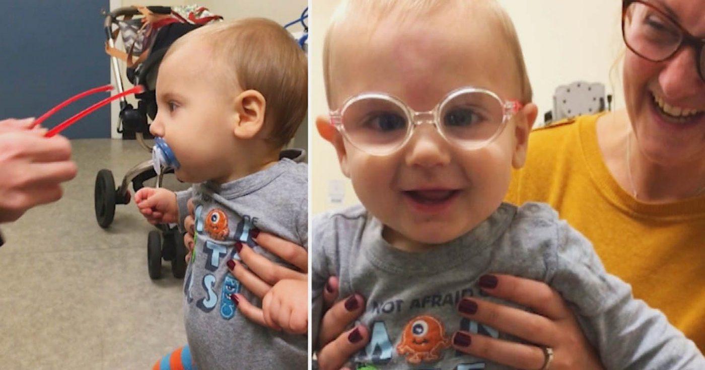 Beba je nakon operacije očiju prvi put ugledala svog tatu