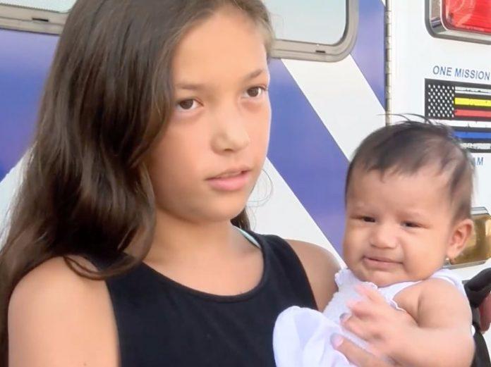 Djevojčica (11) na nevjerojatan način oživjela bebu koja je prestala disati