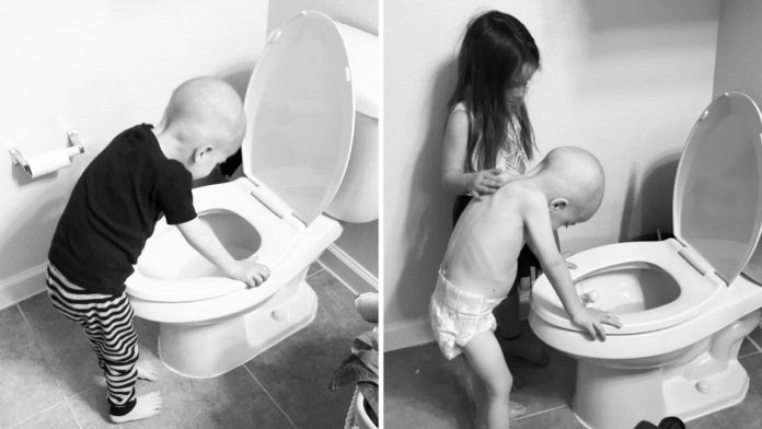 Ovako sestra tješi mlađeg brata koji boluje od leukemije (4)