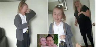 Svojoj kćeri je objavio vijest da je ozdravio od raka
