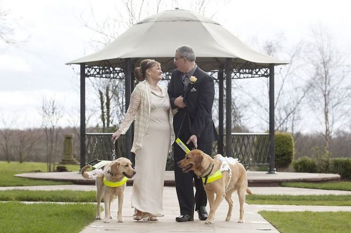 Vlasnici pasa se vjenčali nakon što su se njihovi psi zavoljeli