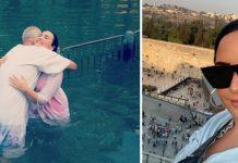 Pjevačica Demi Lovato se krstila u istoj rijeci u kojoj se Isus krstio