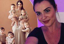 Odbila je pobaciti djecu, a sada je ponosna majka petorki