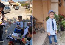 Petar (5) pravi i prodaje srca kako bi bolesna djeca mogla kupiti sirup