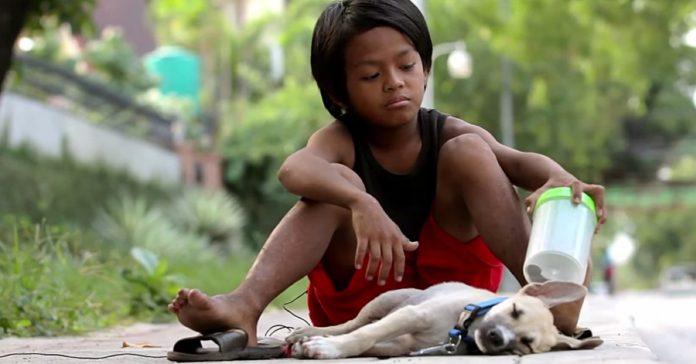 Fotografkinja je uočila malog beskućnika te odlučila podijeliti njegovu priču