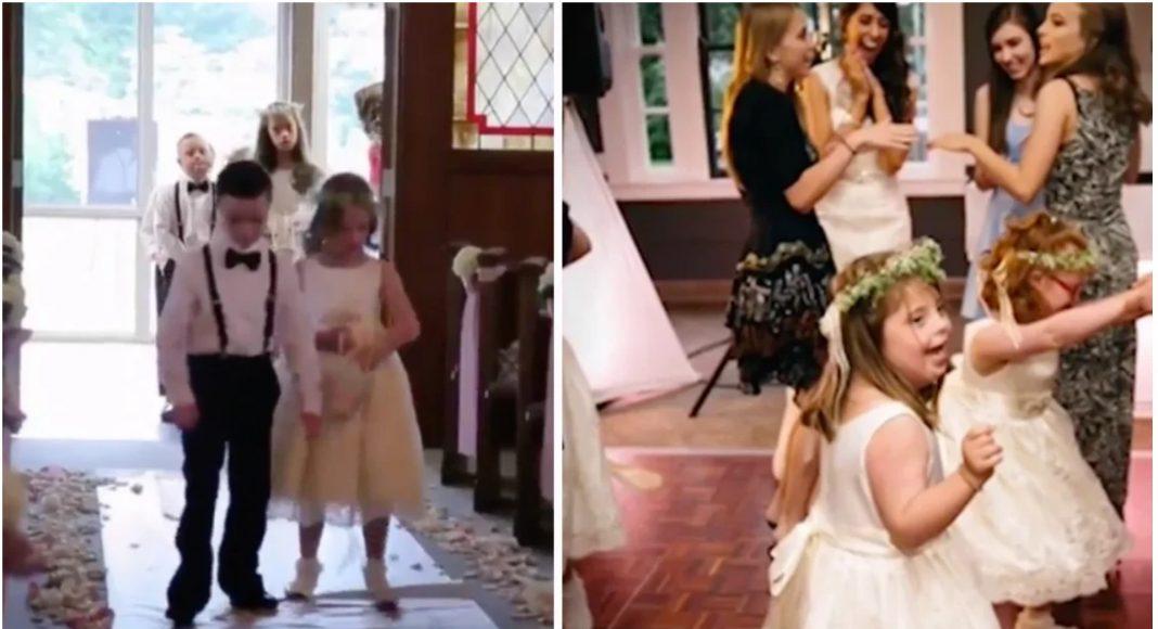 Učiteljica pozvala svoje učenike s posebnim potrebama da joj uljepšaju vjenčanje