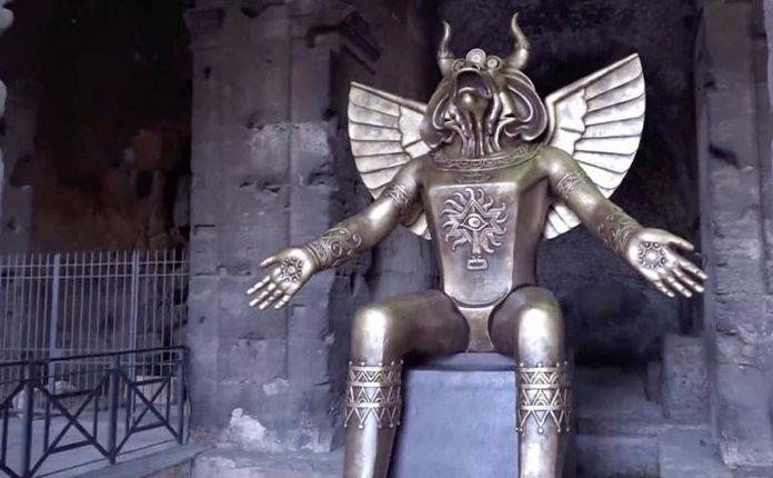 Vjernici zgroženi idolom u Rimu