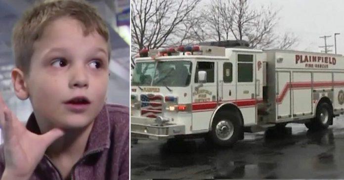 Vatrogasci iznenadili dječaka kojemu prijatelji nisu došli na rođendan