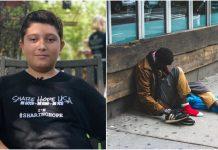 Suosjećajni dječak (12) nahranio 9.000 beskućnika