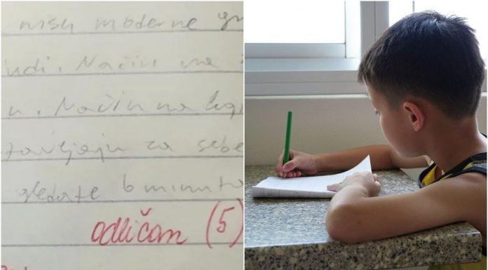 Učiteljica ostavila predivnu poruku, a mama iz Osijeka joj je odgovorila