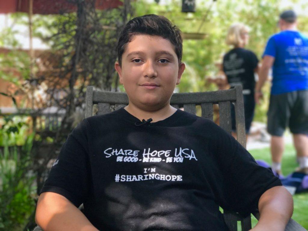 Suosjećajni dječak (12) nahranio 9.000 beskućnika 1