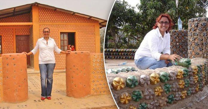 Odvjetnica 12 godina skuplja plastične boce i od njih gradi kuće za siromašne