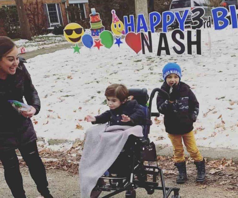 Teško bolesni dječak je proslavio 3. rođendan 2