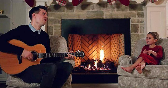 Otac i kći pokorili internet svojom izvedbom popularne božićne pjesme