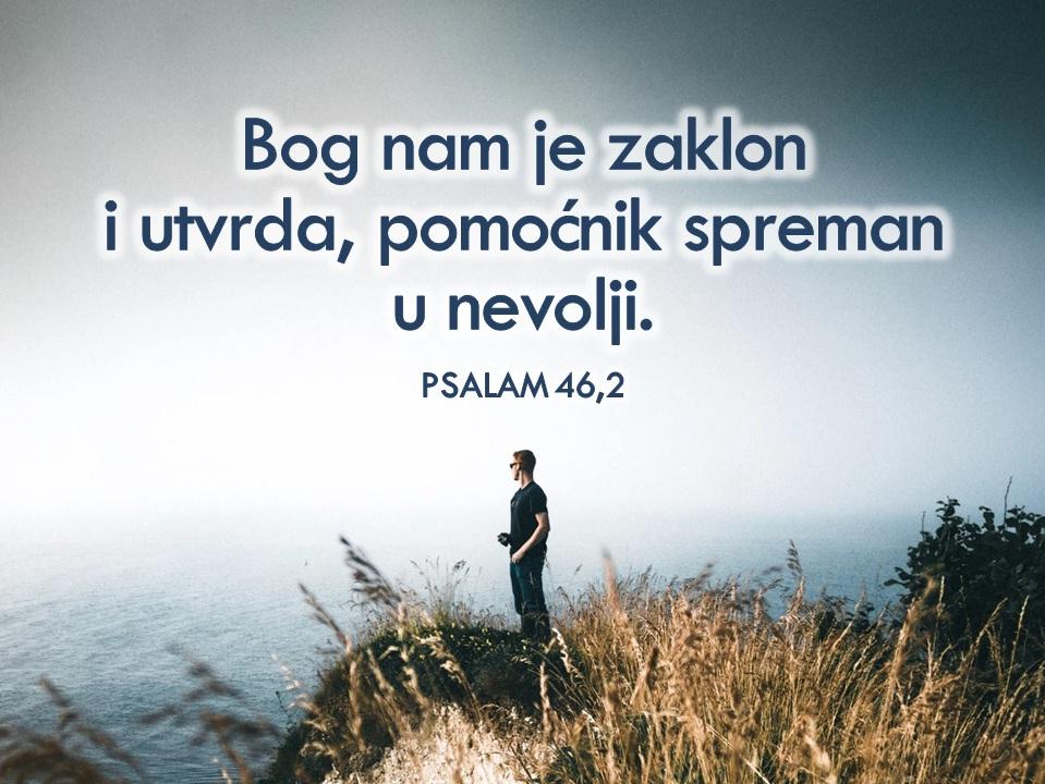 Bog vidi, Bog čuje i izbavit će te!