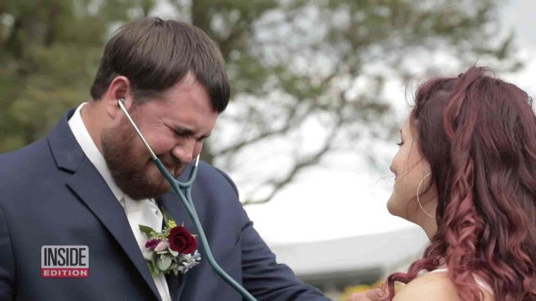 Mladoženja se rasplakao kada mu je na vjenčanje došla jedna posebna gošća 2
