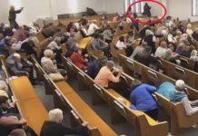 Muškarac pucao na vjernike u crkvi, ima i mrtvih